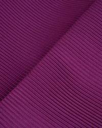 Ted Baker   Purple Ribbed Midi Skirt   Lyst