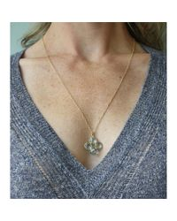"Peyton William Handmade Jewelry   22"" Blue Topaz Necklace   Lyst"