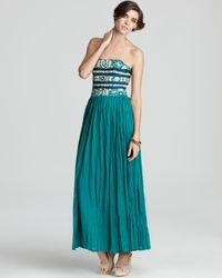 French Connection - Green Azore Summer Maxi Dress - Lyst