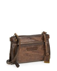 Frye | Brown 'michelle' Crossbody Bag | Lyst