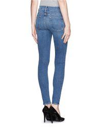 FRAME - Blue Le Skinny De Jeanne Jeans - Lyst