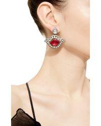 Amrapali | Red One Of A Kind Diamond & Ruby Drop Earrings | Lyst