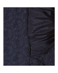 Nina Ricci | Blue Wool Twill Sheath Dress | Lyst
