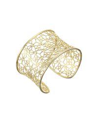 Kendra Scott | Metallic Azlyn Cuff Bracelet | Lyst