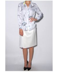 3.1 Phillip Lim - White Embellished Collar Shirt - Lyst