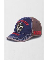 True Religion | Blue Buffalos Baseball Cap for Men | Lyst