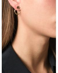 Bjorg | Metallic 'a Thousand Wells' Earrings | Lyst