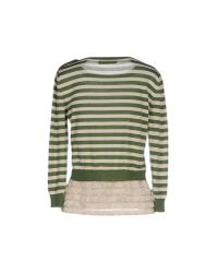 Jucca - Green Jumper - Lyst