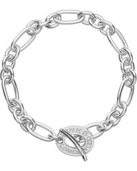 Links of London | Metallic Signature Sterling Silver Charm Bracelet - For Women | Lyst