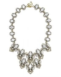 BaubleBar | Metallic Deco Diamond Bib | Lyst