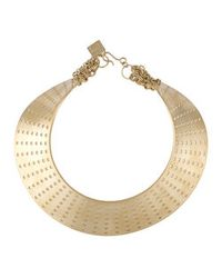 Kelly Wearstler | Metallic Perforated Collar Necklace | Lyst