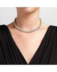 John Lewis - Metallic Cubic Zirconia Link Necklace - Lyst