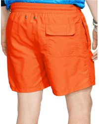 Polo Ralph Lauren | Orange Hawaiian Swim Boxers for Men | Lyst