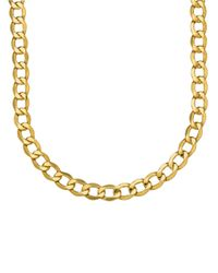Lord & Taylor | Metallic 14k Yellow Gold Mens Necklace | Lyst