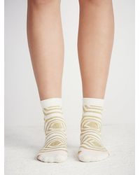 Free People | Natural Stance Womens Treasure Crew Sock | Lyst