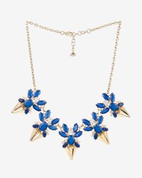 Ted Baker | Blue Jewelled Arrow Necklace | Lyst
