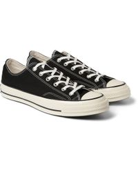 Converse | 1970's Chuck Taylor All Star Lo Sneakers From In Black for Men | Lyst