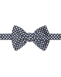 DSquared² - Blue Navy And White Polka Dot Bow Tie for Men - Lyst