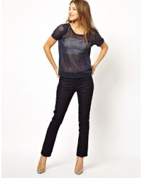M.i.h Jeans | Blue The Paris Jeans in Raw Denim | Lyst