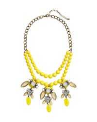 H&M | Yellow Short Necklace | Lyst