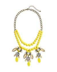 H&M - Yellow Short Necklace - Lyst