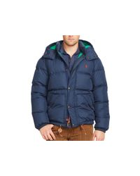 Ralph Lauren | Blue Polo Elmwood Down Jacket for Men | Lyst