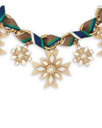 Tory Burch - Multicolor Selma Necklace - Lyst