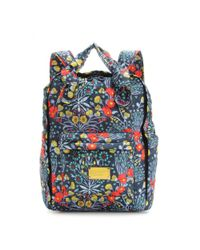 Marc By Marc Jacobs - Blue Pretty Printed Shell Backpack - Lyst