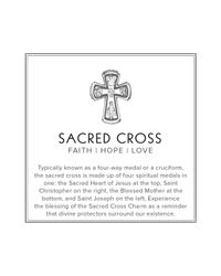 ALEX AND ANI - Metallic Sacred Cross Mini Expandable Wire Ring, Precious Metal Collection - Lyst