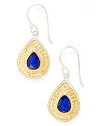 Anna Beck - Blue 'gili' Lapis Teardrop Earrings - Lyst
