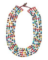 Toast | Multicolor Masai Necklace | Lyst