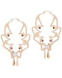 Sarah Ho - Sho - Metallic Florabella Bella Earrings - Lyst
