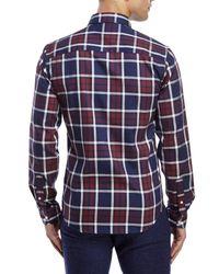 Moods Of Norway - Blue Arne Vik Plaid Button-Down Shirt for Men - Lyst