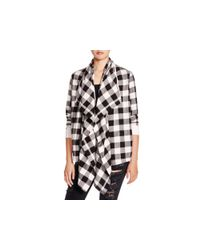 Alternative Apparel - Black Bungalow Buffalo Check Cardigan - Lyst