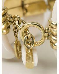 Vaubel | White Connected Teeth Bracelet | Lyst