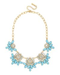 BaubleBar | Blue Botanica Collar | Lyst
