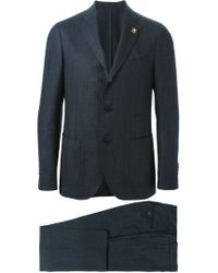 Lardini - Blue Classic Two-piece Suit for Men - Lyst