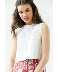 Urban Outfitters - Metallic Kate Layering Necklace - Lyst