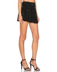 MLV - Black Nancy Sequin Skirt - Lyst
