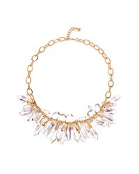 Ted Baker | Metallic Dunia Droplet Bead Cluster Necklace | Lyst