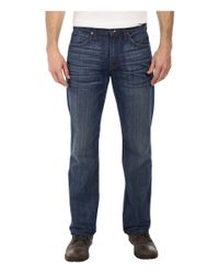 7 For All Mankind - Blue Carsen Easy Straight W/ Clean Pocket In Shaded Sun for Men - Lyst