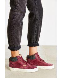 Vans - Purple California Era Hi Sneaker - Lyst