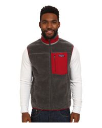 Patagonia - Gray Classic Retro-x Vest for Men - Lyst