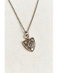 Pyrrha - Metallic Luck Talisman Necklace - Lyst
