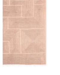 Armand Diradourian - Pink Geometric Print Wool-cashmere Scarf - Lyst