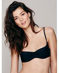 Free People - Black Intimately Womens Smooth Operator Bra - Lyst