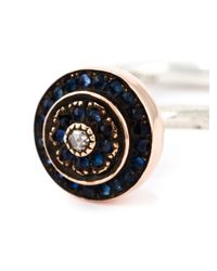 Rosa Maria - Blue 'Jane' Ring - Lyst