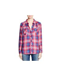 Rails - Red Kendra Plaid Shirt - Lyst