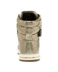 Michael Kors | Metallic Mk City Sneaker | Lyst