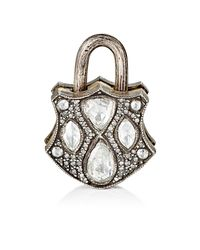 Sevan Biçakci - Metallic Diamond-embellished Padlock - Lyst